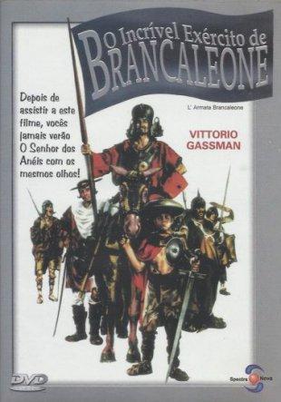 Capa do filme: O Incrível Exército de Brancaleone