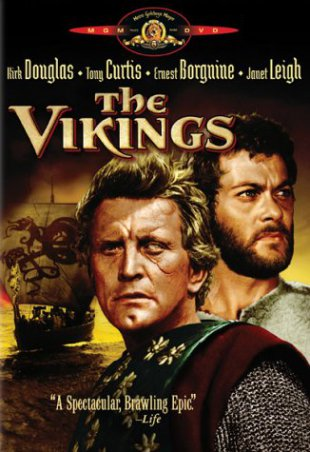 Capa do filme: Os Vikings