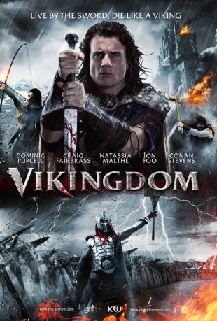 Capa do filme: Vikingdom: O Reino Viking
