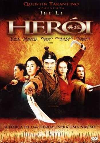 Capa do filme: Herói