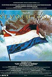 Capa do filme: A Revolução Francesa