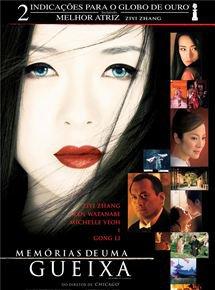 Capa do filme: Memórias de uma Gueixa