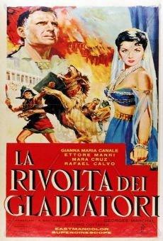 Capa do filme: A Revolta dos Gladiadores