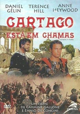 Capa do filme: Cartago está em chamas