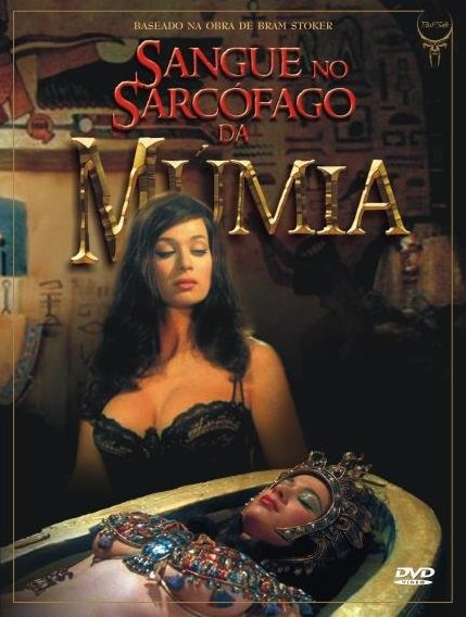 Capa do filme: Sangue no Sarcófago da Múmia