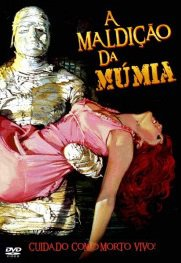 Capa do filme: A Maldição da Múmia