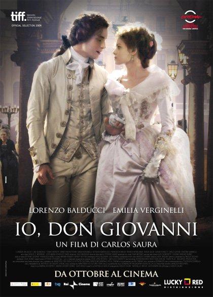 Capa do filme: Eu, Don Giovanni