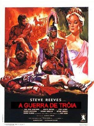 Capa do filme: A Guerra de Tróia