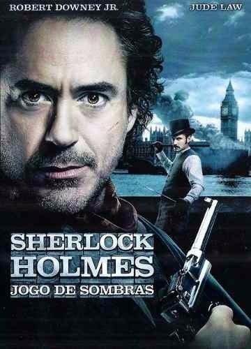 Capa do filme: Sherlock Holmes: O Jogo de Sombras