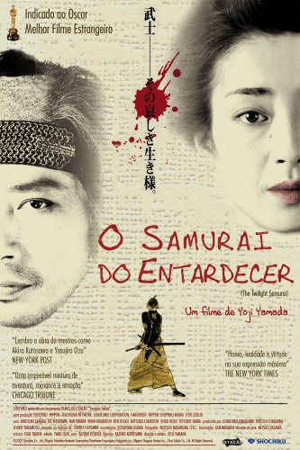 Capa do filme: O Samurai do Entardecer