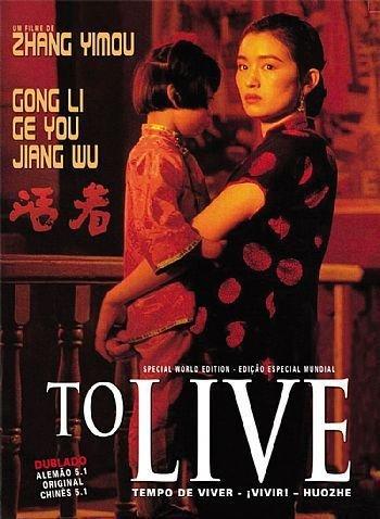 Capa do filme: Tempo de Viver