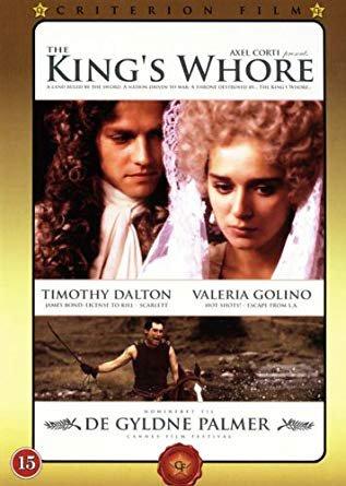 Capa do filme: A Amante do Rei