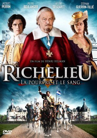 Capa do filme: Richelieu: A púrpura e o sangue