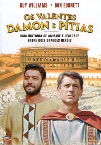 Capa do filme: Os Valentes Damon e Pítias