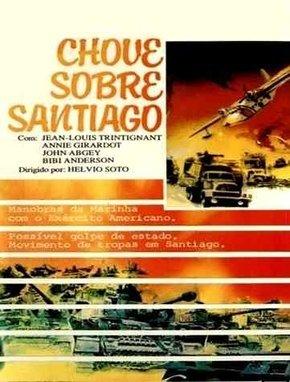Capa do filme: Chove Sobre Santiago