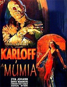 Capa do filme: A Múmia