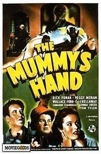 Capa do filme: A Mão da Múmia