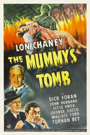 Capa do filme: A Tumba da Múmia