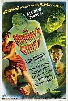 Capa do filme: A Sombra da Múmia