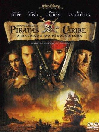 Capa do filme: Piratas do Caribe: A Maldição do Pérola Negra