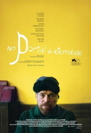 Capa do filme: No Portal da Eternidade