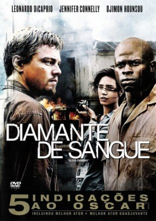 Capa do filme: Diamante de Sangue