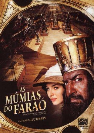 Capa do filme: As Múmias do Faraó