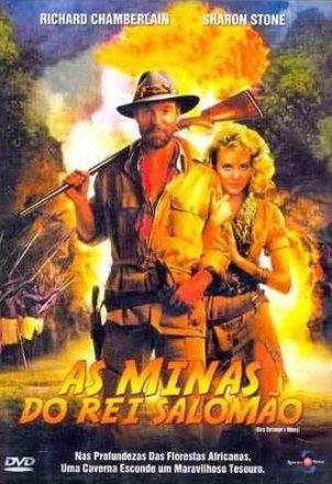 Capa do filme: As Minas do Rei Salomão