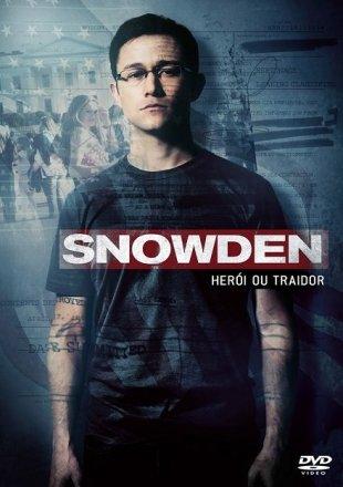Capa do filme: Snowden: Herói ou Traidor