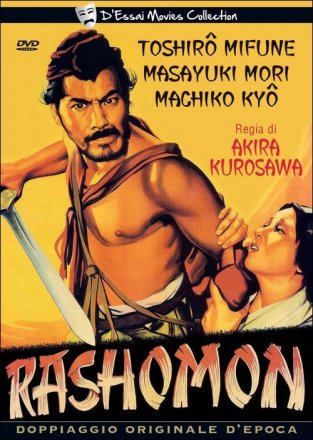 Capa do filme: Rashomon