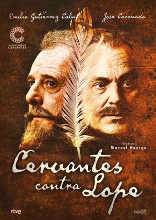 Capa do filme: Cervantes contra Lope