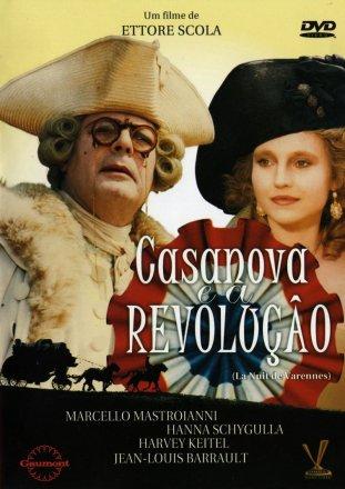 Capa do filme: Casanova e a Revolução