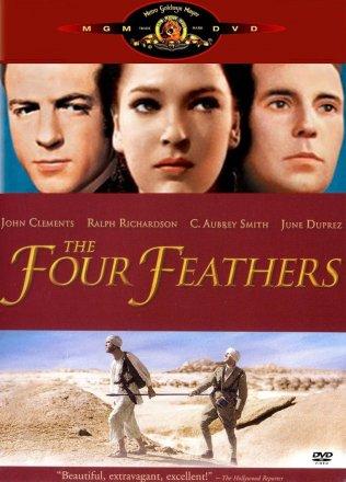 Capa do filme: As Quatro Penas Brancas