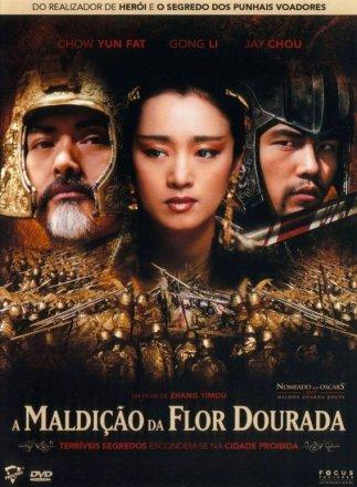 Capa do filme: A Maldição da Flor Dourada