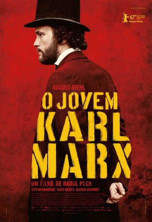 Capa do filme: O Jovem Karl Marx