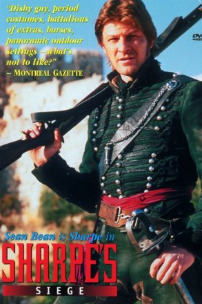 Capa do filme: As Aventuras de Sharpe 10 - O Cerco de Sharpe