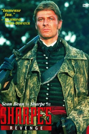 Capa do filme: As Aventuras de Sharpe 12 - A Vingança de Sharpe
