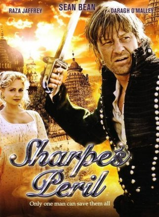 Capa do filme: As Aventuras de Sharpe 16 - O Perigo de Sharpe