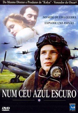 Capa do filme: Num céu azul escuro