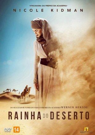 Capa do filme: Rainha do Deserto