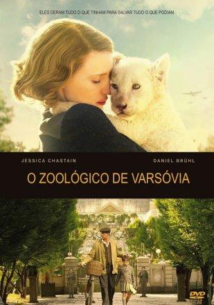 Capa do filme: O Zoológico de Varsóvia
