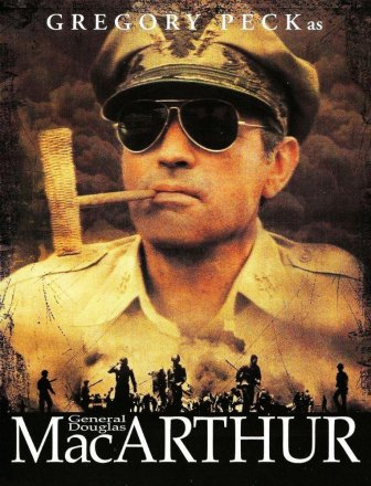 Capa do filme: MacArthur, o General Rebelde