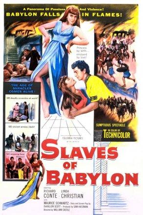 Capa do filme: Escravos da Babilônia