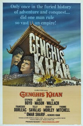 Capa do filme: Gengis Khan