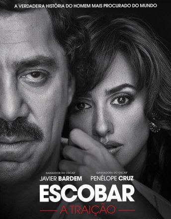Capa do filme: Escobar: A Traição