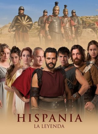 Capa do filme: Hispania, a lenda