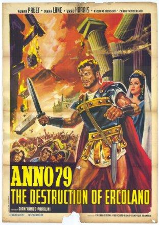 Capa do filme: Ano 79 - A Destruição de Herculano