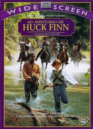 Capa do filme: As Aventuras de Huck Finn