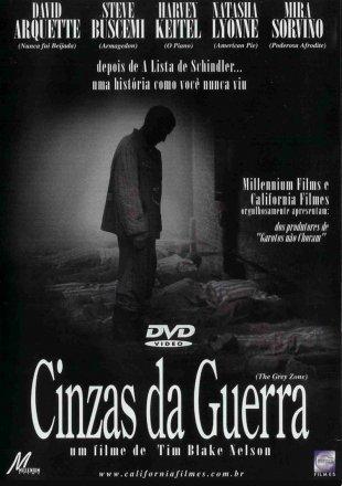 Capa do filme: Cinzas da Guerra