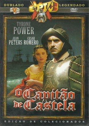Capa do filme: O capitão de Castela